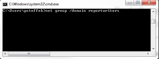 command line active directory group 1